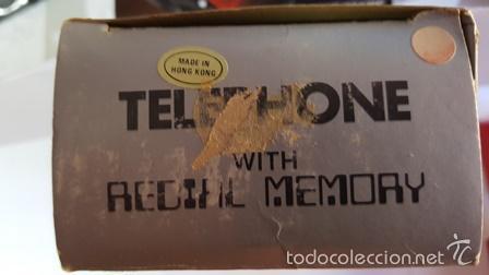 Teléfonos: TELEPHONE - WITH REDIAL MEMORY - COLOR ROJO - NUEVO SIN USO - EN SU CAJA DE ORIGEN - - Foto 4 - 58388379