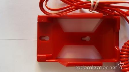 Teléfonos: TELEPHONE - WITH REDIAL MEMORY - COLOR ROJO - NUEVO SIN USO - EN SU CAJA DE ORIGEN - - Foto 6 - 58388379