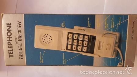 Teléfonos: TELEPHONE - WITH REDIAL MEMORY - COLOR ROJO - NUEVO SIN USO - EN SU CAJA DE ORIGEN - - Foto 8 - 58388379
