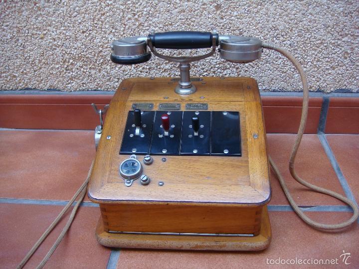 Teléfonos: ANTIGUA CENTRALITA TELEFONICA FRANCESA, DE LA CASA CH VENTROUX (filial de la marca GRAMMOND). - Foto 10 - 58389430