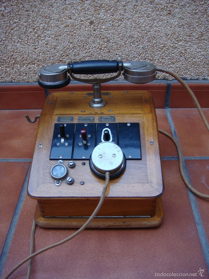 Teléfonos: ANTIGUA CENTRALITA TELEFONICA FRANCESA, DE LA CASA CH VENTROUX (filial de la marca GRAMMOND). - Foto 14 - 58389430