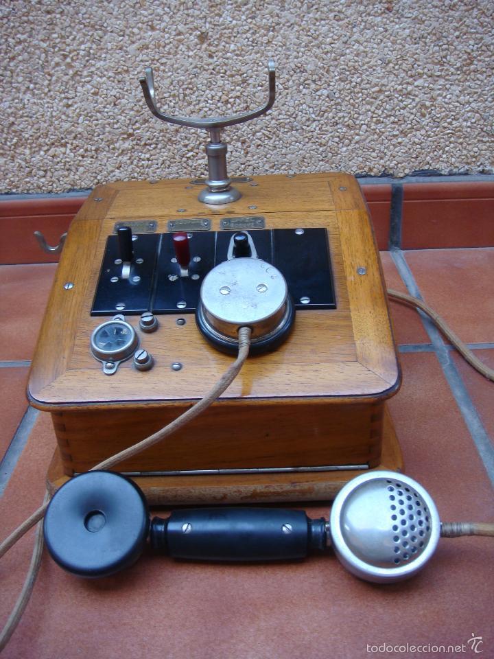 Teléfonos: ANTIGUA CENTRALITA TELEFONICA FRANCESA, DE LA CASA CH VENTROUX (filial de la marca GRAMMOND). - Foto 15 - 58389430