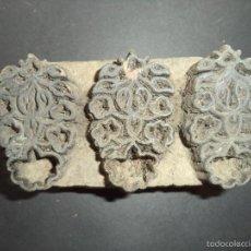 Antigüedades: ESTAMPADOR DE MADERA. PARA TEXTIL INICIO SEC XX 06. Lote 58431335