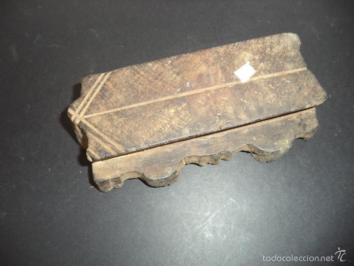 Antigüedades: ESTAMPADOR DE MADERA. PARA TEXTIL inicio sec XX 07 - Foto 2 - 58431351