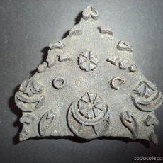 Antigüedades: ESTAMPADOR DE MADERA. PARA TEXTIL INICIO SEC XX 12. Lote 58431408