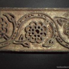 Antigüedades: ESTAMPADOR DE MADERA. PARA TEXTIL INICIO SEC XX 16. Lote 58431449
