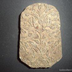 Antigüedades: ESTAMPADOR DE MADERA. PARA TEXTIL INICIO SEC XX 19. Lote 58431496