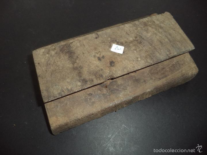 Antigüedades: ESTAMPADOR DE MADERA. PARA TEXTIL inicio sec XX 20 - Foto 2 - 58431504