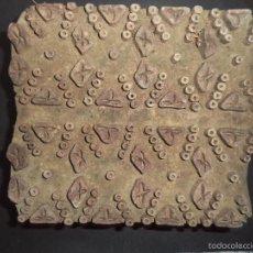 Antigüedades: ESTAMPADOR DE MADERA. PARA TEXTIL INICIO SEC XX 24. Lote 58431535