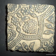 Antigüedades: ESTAMPADOR DE MADERA. PARA TEXTIL INICIO SEC XX 29. Lote 58431564