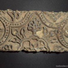 Antigüedades: ESTAMPADOR DE MADERA. PARA TEXTIL INICIO SEC XX 30. Lote 58431576