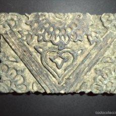 Antigüedades: ESTAMPADOR DE MADERA. PARA TEXTIL INICIO SEC XX 31. Lote 58431597