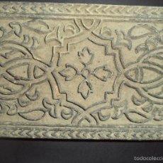 Antigüedades: ESTAMPADOR DE MADERA. PARA TEXTIL INICIO SEC XX 32. Lote 58431602