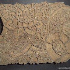 Antigüedades: ESTAMPADOR DE MADERA. PARA TEXTIL INICIO SEC XX 33. Lote 58431607