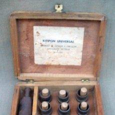 Antigüedades: KITIPON UNIVERSAL - ANTIGUA HERRAMIENTA PARA EXTRAER Y COLOCAR CASQUILLOS DE BIELA. Lote 58467409