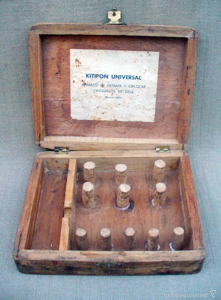 Antigüedades: KITIPON UNIVERSAL - ANTIGUA HERRAMIENTA PARA EXTRAER Y COLOCAR CASQUILLOS DE BIELA - Foto 2 - 58467409