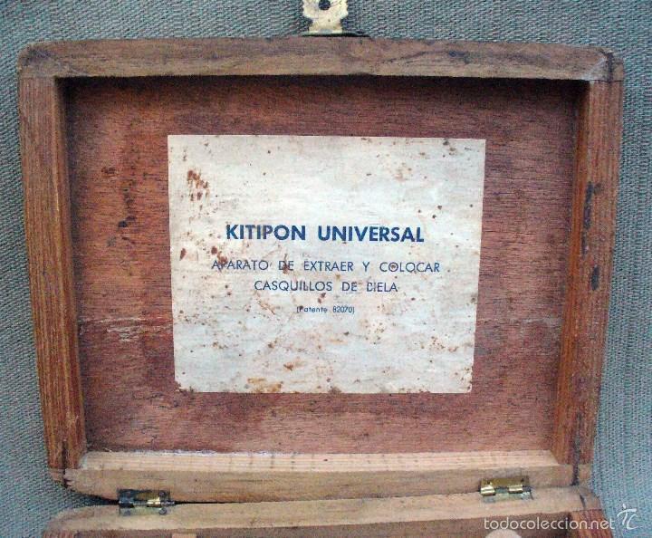 Antigüedades: KITIPON UNIVERSAL - ANTIGUA HERRAMIENTA PARA EXTRAER Y COLOCAR CASQUILLOS DE BIELA - Foto 3 - 58467409