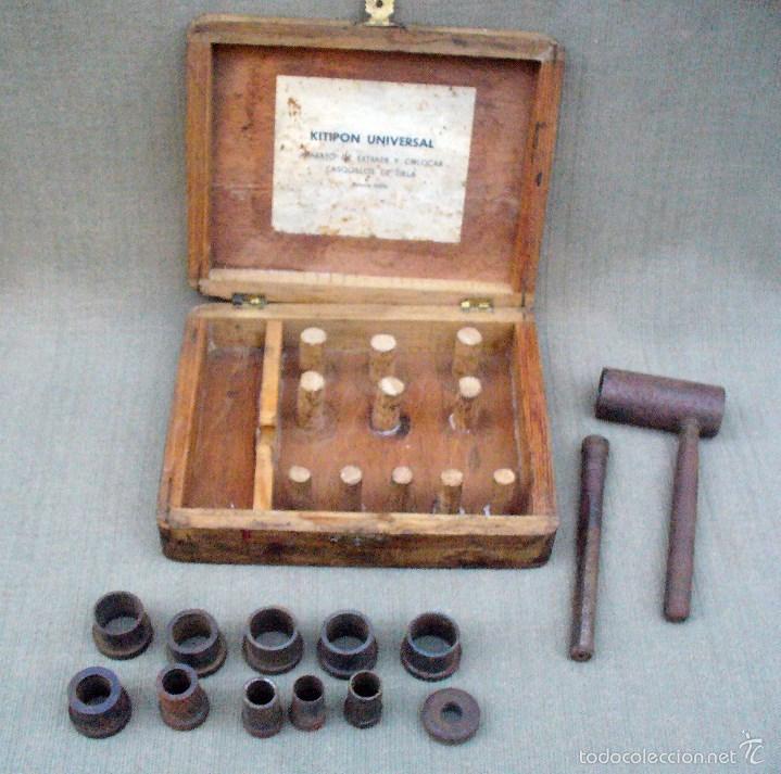 Antigüedades: KITIPON UNIVERSAL - ANTIGUA HERRAMIENTA PARA EXTRAER Y COLOCAR CASQUILLOS DE BIELA - Foto 4 - 58467409