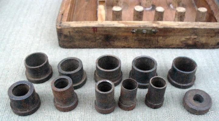 Antigüedades: KITIPON UNIVERSAL - ANTIGUA HERRAMIENTA PARA EXTRAER Y COLOCAR CASQUILLOS DE BIELA - Foto 5 - 58467409