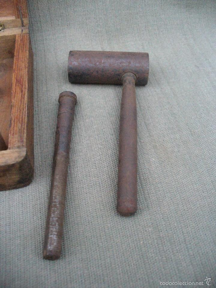 Antigüedades: KITIPON UNIVERSAL - ANTIGUA HERRAMIENTA PARA EXTRAER Y COLOCAR CASQUILLOS DE BIELA - Foto 6 - 58467409