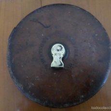 Antigüedades: CINTA METRICA INGLESA. Lote 58470827