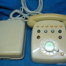 Teléfonos: ANTIGUO Y ENORME TELÉFONO CON CENTRALITA FABRICADO EN MÁLAGA, ESPAÑA. Lote 58488372