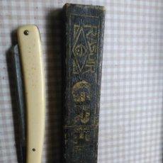 Antigüedades - Antigua Navaja de afeitar GRELOT RASOIR con estuche, - 58489543
