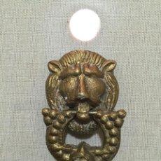 Antigüedades: TIRADOR DE BRONCE . Lote 58494501