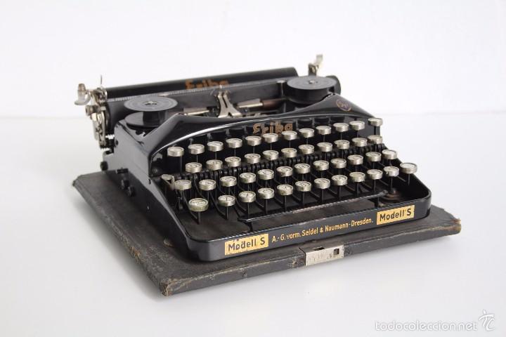 MÁQUINA DE ESCRIBIR ERIKA MODEL S. ALEMANIA. 1937. (Antigüedades - Técnicas - Máquinas de Escribir Antiguas - Erika)