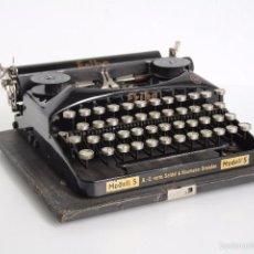 Antigüedades: MÁQUINA DE ESCRIBIR ERIKA MODEL S. ALEMANIA. 1937.. Lote 58509984
