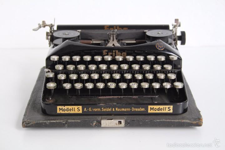 Antigüedades: Máquina de escribir Erika Model S. Alemania. 1937. - Foto 2 - 58509984