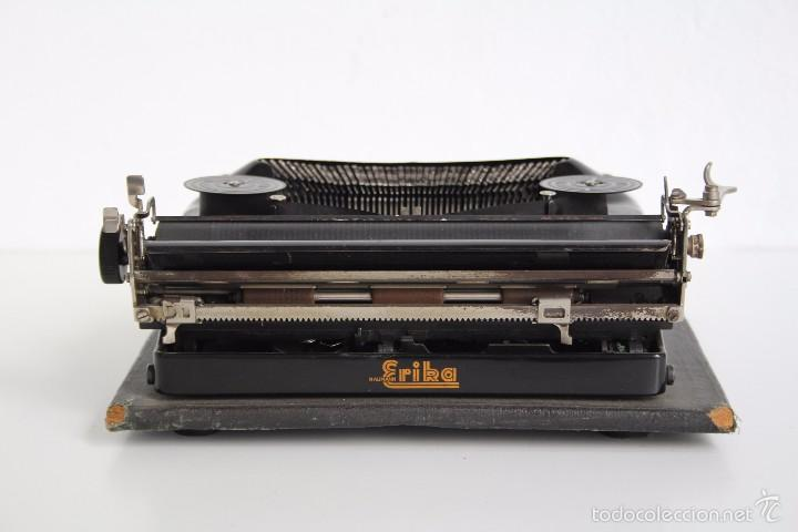 Antigüedades: Máquina de escribir Erika Model S. Alemania. 1937. - Foto 4 - 58509984
