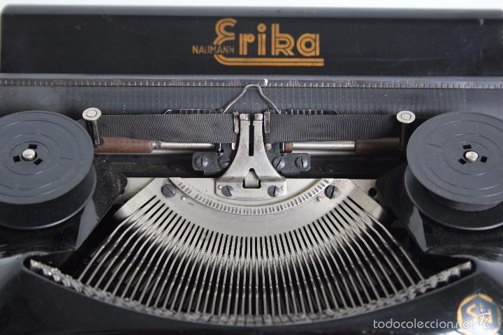 Antigüedades: Máquina de escribir Erika Model S. Alemania. 1937. - Foto 7 - 58509984