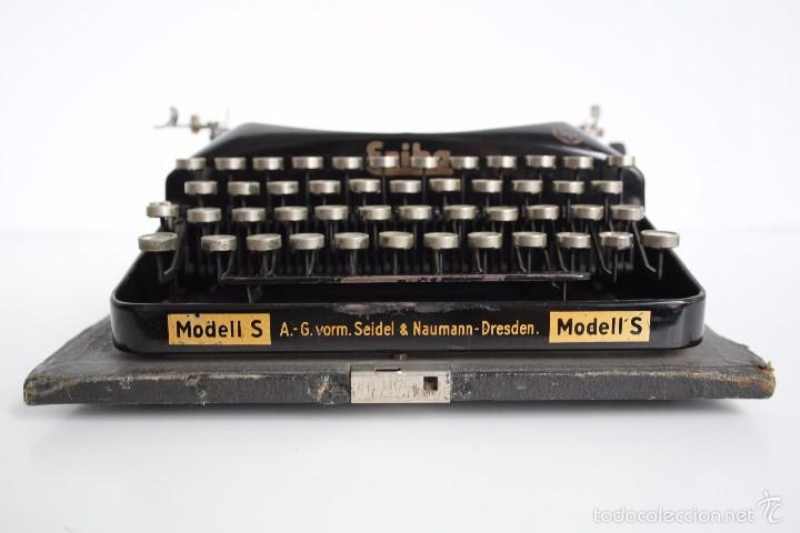 Antigüedades: Máquina de escribir Erika Model S. Alemania. 1937. - Foto 8 - 58509984