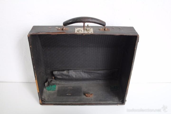 Antigüedades: Máquina de escribir Erika Model S. Alemania. 1937. - Foto 10 - 58509984
