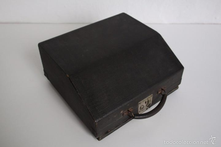 Antigüedades: Máquina de escribir Erika Model S. Alemania. 1937. - Foto 11 - 58509984