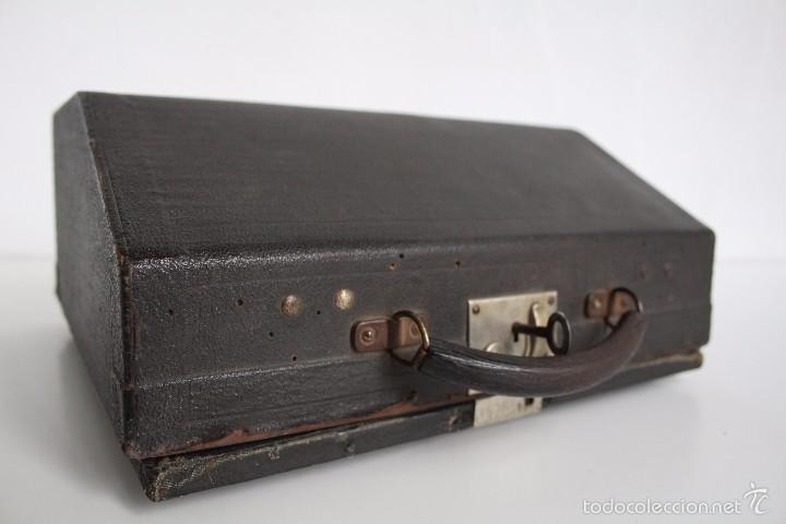 Antigüedades: Máquina de escribir Erika Model S. Alemania. 1937. - Foto 12 - 58509984