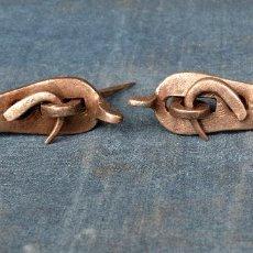 Antigüedades: PESTILLOS DE FORJA DE 11 CM DE LARGO . Lote 58515229
