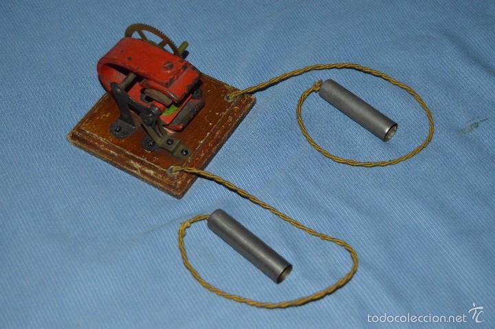 ELECTRO SHOCK - MUY ANTIGUO - 1800'S 1900'S - VINTAGE Y RARO - THE ELECTRIC THILLER (Antigüedades - Técnicas - Herramientas Profesionales - Medicina)
