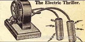 Antigüedades: ELECTRO SHOCK - Muy antiguo - 1800s 1900s - Vintage y raro - THE ELECTRIC THILLER - Foto 9 - 58517799