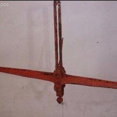 Antigüedades: BALANZA ROMANA GRANDE. Lote 58546765