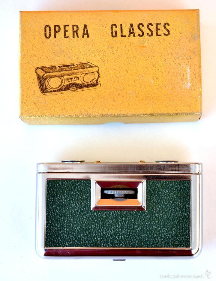 Antigüedades: PRISMÁTICOS DE OPERA CRYSTAR LENS 25X - Foto 2 - 58550721