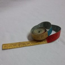 Antigüedades: METRO PARA COSTURA COSTURERA STAMM MADE IN SWITZERLAND . Lote 58571934