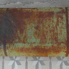 Antigüedades: DEPÓSITO DE COMBUSTIBLE AÑOS 20 - 30 REALIZADO EN CHAPA METÁLICA - GRAN TAMAÑO. Lote 58584950