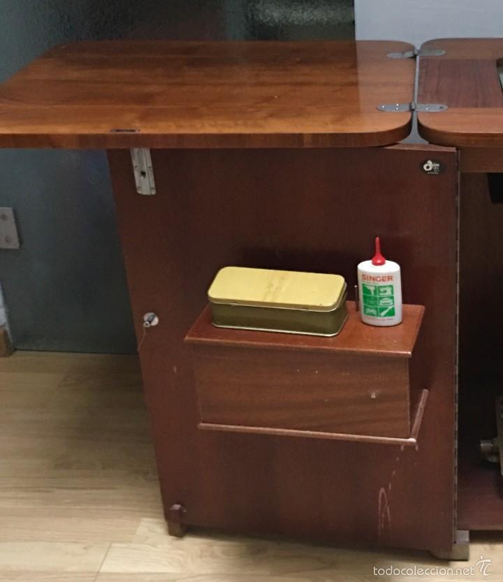 Antigüedades: maquina de coser ALFA de los años 60-70 - Foto 3 - 58599694