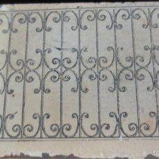 Antigüedades: TROQUEL MADERA CON PLANCHA FORJA AÑOS 40. Lote 58608315