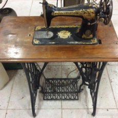Antigüedades: MAQUINA DE COSER SINGER . Lote 58610646