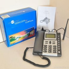 Teléfonos: TELEFONO MESA GSMPHONE TELEFONO DE TARJETA SIM NUNCA USADO TELECOM FM GSM PHONE. Lote 58610933