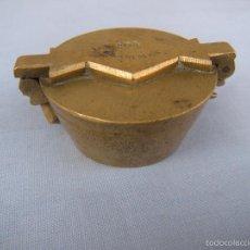 Antigüedades: ANTIGUO PONDERAL DE BRONCE. Lote 58617694