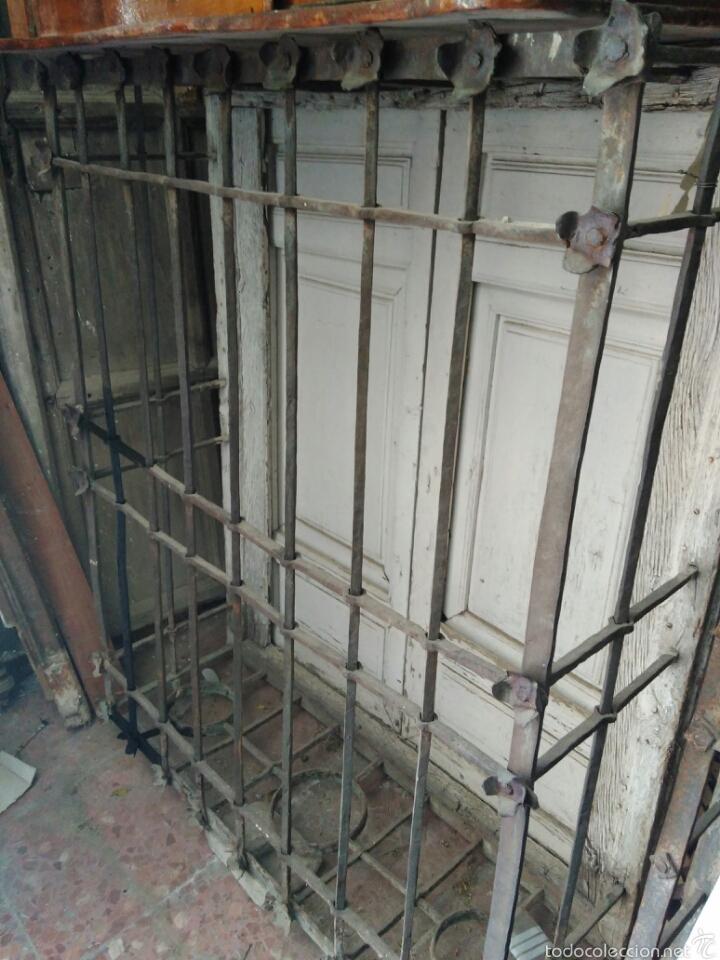 REJA DEL SIGLO XVII (Antigüedades - Técnicas - Cerrajería y Forja - Forjas Antiguas)